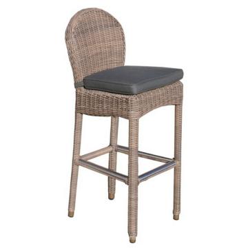 Selles de chaise de jardin Rotin osier Outdoor Furniture Set Bar
