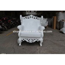 Wedding party carved high back chair XYN371