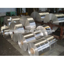 Aluminum coil for capacitor
