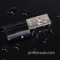 USB Flash Drive Black Glass