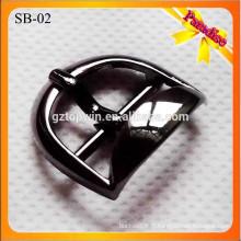 SB02 Accessoires de chaussures décoratifs chaussures en métal boucle avec couleur noire