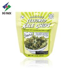 Kale Chips Stand Up Pouch con cremallera