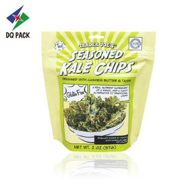 Kale Chips Bolsa Stand Up Com Zíper