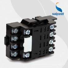 Saipwell Высококачественное гнездо реле 12V 5-контактный с сертификацией CE (LY4)