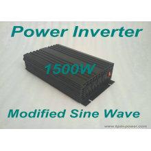 Inversor de energía de onda sinusoidal modificada de 1500 vatios / DC a inversores de CA
