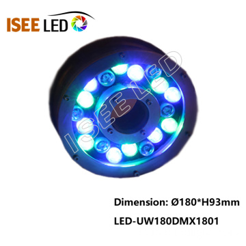 Venta al por mayor DMX RGB 18W LED Fountain Light