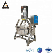 Stainless Steel Steam Jacketed Kettle for Jam Making
