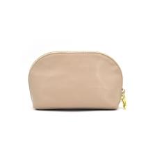 Bolsa de bagagem de viagem de couro compõem saco cosmético