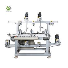 Máquina de laminação multicamada de filme de PVC de três lugares