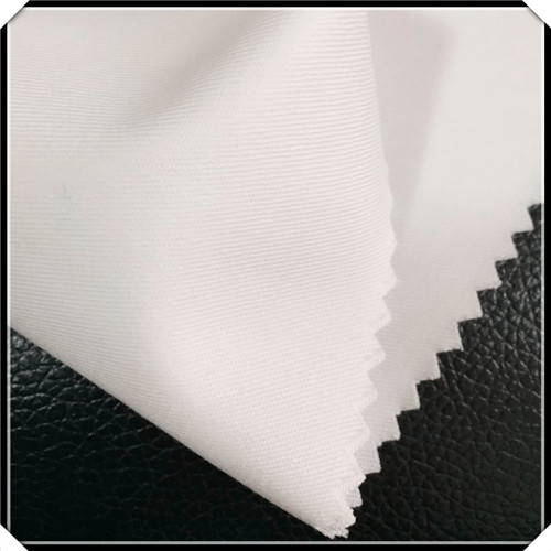 Uniform Bleach White Twill Cloth Weave Fabric