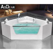 Aokeliya small corner bath tub  Hangzhou massage jetted bathtub with moderate price