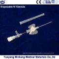 Блистерная упакованная медицинская одноразовая канюля IV / катетер типа Butterfly 20g