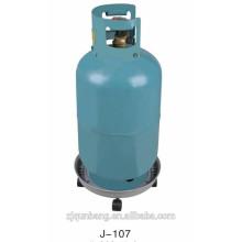 Metall verchromtes Gasflaschengestell