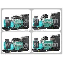 Wuxi Brand P3 440kw / 550kva Резервный портативный генератор с двигателем Wandi