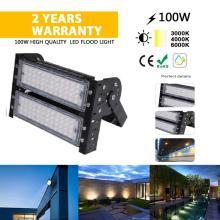 Luz de inundación de 100W para downlight de inundación al aire libre del patio trasero