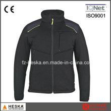Novo estilo Primavera Casual homens Bodkin malha casaco casaco de abertura
