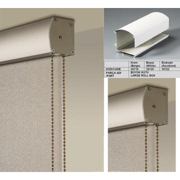 38mm / 28mm Aluminium Tube Cover Roller Blinds