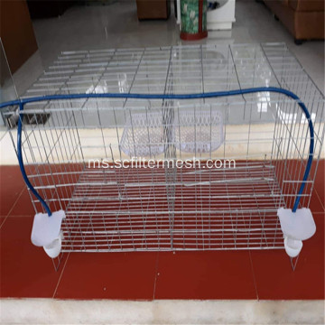 Galvanized Folded Poultry / Livestock Cage and Coop