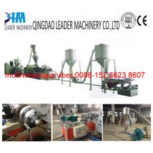 Gránulos plásticos del PVC que hacen el granulador de la máquina