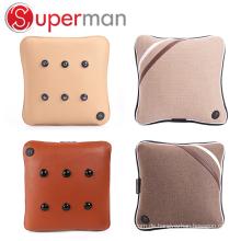 travel car seat massage cushion seated vibrator wireless back pillow