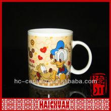 Keramik Donald Duck gegraben, Volldruckbecher