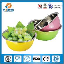 aço inoxidável de qualidade superior promocional decorar fruteira
