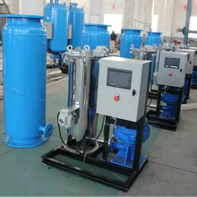 PLC Automatic Condenser Rubber Ball Tube Cleaning Equipment