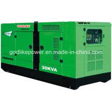 24 кВт / 30 кВА Тип дизельного дизельного генератора с двигателем Perkins