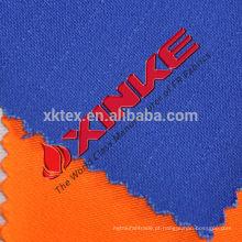 Chama de algodão 350gsm retardante e antiestática para vestuário de trabalho