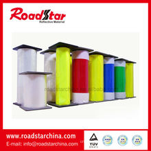 Rolls prismatic PVC sheet for tape