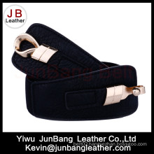 Polyester Elastic Woman Belt with Metal Buckle