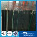 Venta caliente pantalla de seda 6.38mm Building Laminated Safety Glass para pared de partición
