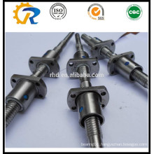Cold Rolled bearing ball screw SFU4010 for CNC machine
