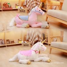 Custom Giant Big Plush White Unicornio Stuffed Toy Stuff Large Red Pink Unicorn Toy blando