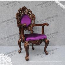 Nice Stylish Purple Seater Chairs for Palace (YC-K002)