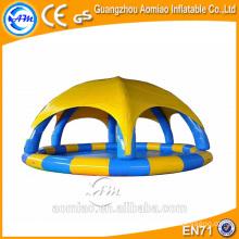Custom made inflável piscina cobre, piscina inflável dome