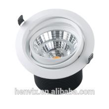220v / 110v 20w gimbal fire rated led downlight