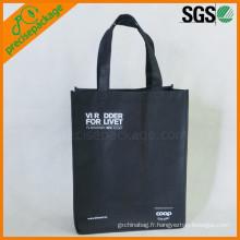 sac à provisions imprimé non tissé fait sur commande promotionnel réutilisable d'eco