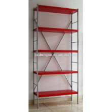 Red Metal Rack Five Layers for Sale