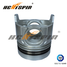 6SD1t Isuzu Alfin Piston with 120mm Bore Diameter, 127.5mm Total Height, 75mm Compress Height with 1 Year Warranty