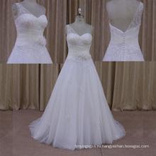 Выход Фабрики Новый Дизайн Свадебное Платье Из Органзы 2014