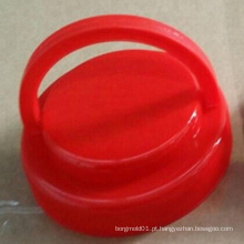 O tampão profissional do plástico 5 galões com molde do punho / plástico 5 galões tampa com o molde do punho na porcelana