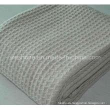 Suave manta de tejido de algodón 100%