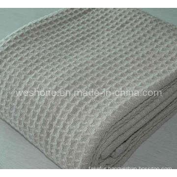 Soft 100% Cotton Woven Blanket