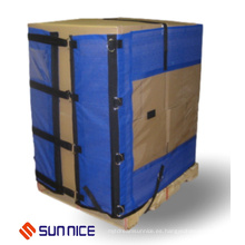 Alternativa reutilizable de la envoltura de plataforma de los 100cm a la película elástica de la máquina