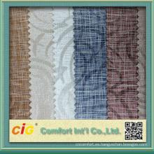 Nueva impresión colorida del diseño de la manera y paños surtidos en relieve del cuero del pvc en relieve para los bolsos y el sofá