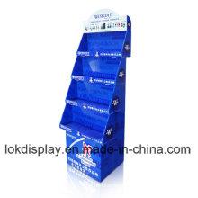 Pantalla de exposición de cartón para impresión UV Pantalla de visualización PDQ, Bandeja de papel Pantalla