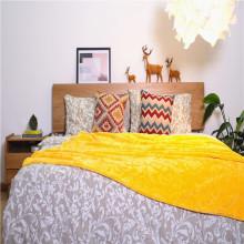 La cama larga del jacquard del paño grueso y suave coralino de la felpa arroja las mantas