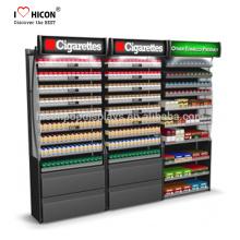 Significativamente más bajo el costo total de su tabaco y cigarrillos Wall Display Unit Cigarette Display Cabinet