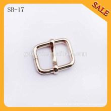 SB17 Venta al por mayor hebilla personalizada de oro de metal de metal zapato